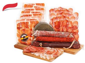 Gourmet-Box in Scheiben